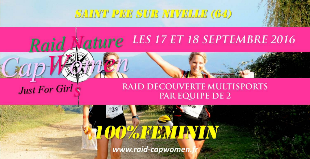 Raid Nature Découverte multi-sports Cap Women