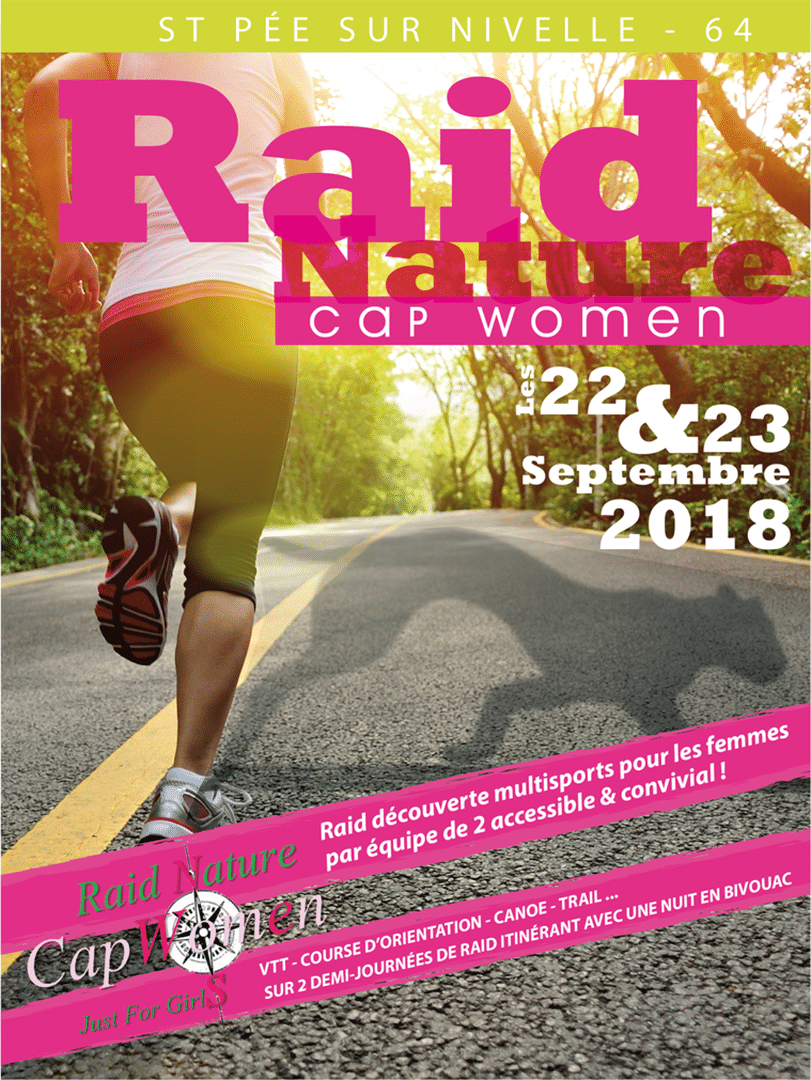 affiche officiel Raid Cap Women 2018