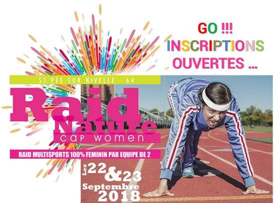Inscription raid nature découverte multi-sports 100 % féminin Cap Women, Just For Girls